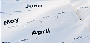 April May June calendar 300 by 145