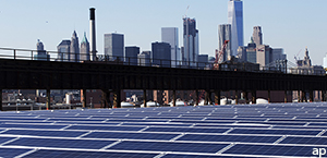 City solar panels 300 by 145