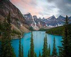 Lake in Canada 1