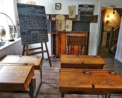 Old Time Classroom 1