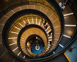 Spiral staircase small