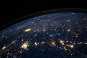 Earth nightlight 300x200