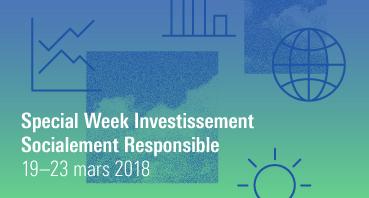 Special Week Investissement Socialement Responsable