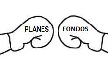Comparativa planes de pensiones frente a fondos