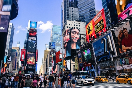 Times Square, New York, Billboards