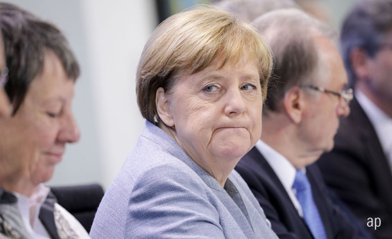 Angela Merkel could have yet another election to fight in 2018.