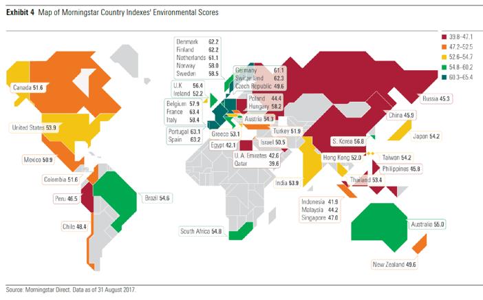 Europäische Unternehmen sind aus ESG-Sicht Spitze