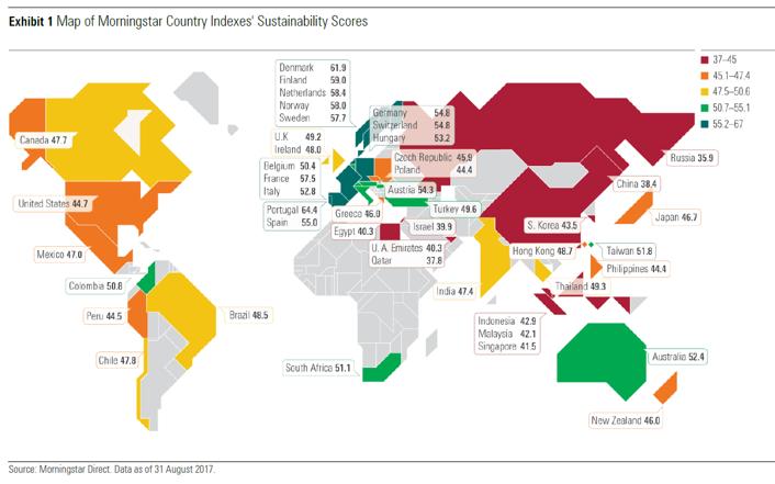 Morningstar Nachhaltigkeits-Atlas veröffentlicht
