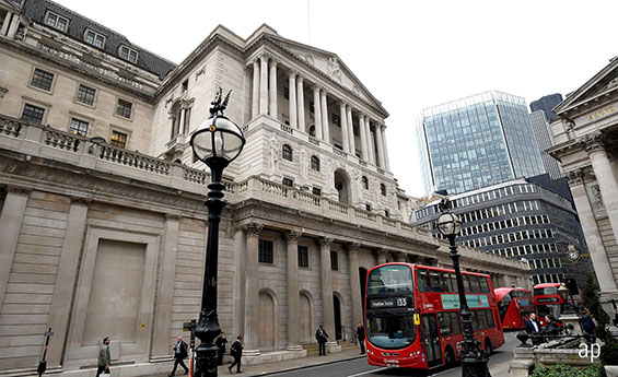 Bank of England raises interest rates