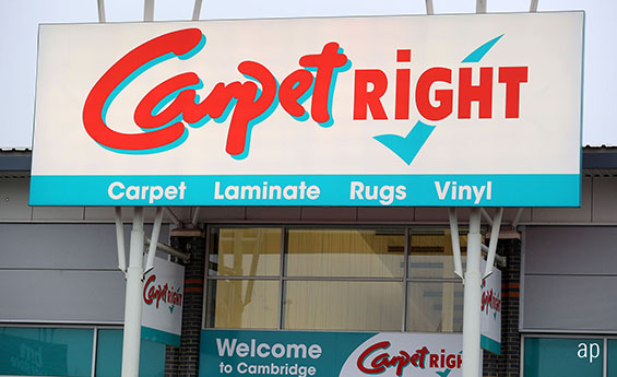 Carpetright Shares Plunge