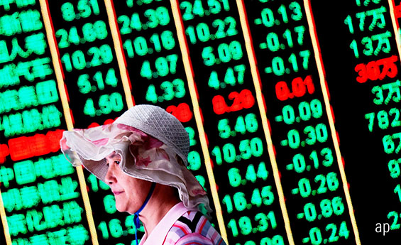 Chinese Equity Markets are Down 20%