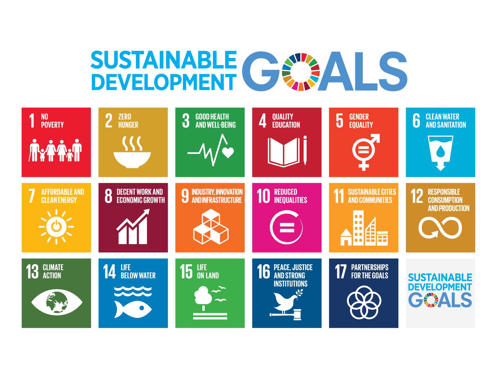 Gli Obiettivi per lo sviluppo sostenibile dell'ONU