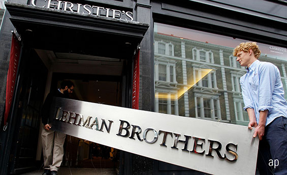 Lehman Brothers Auction