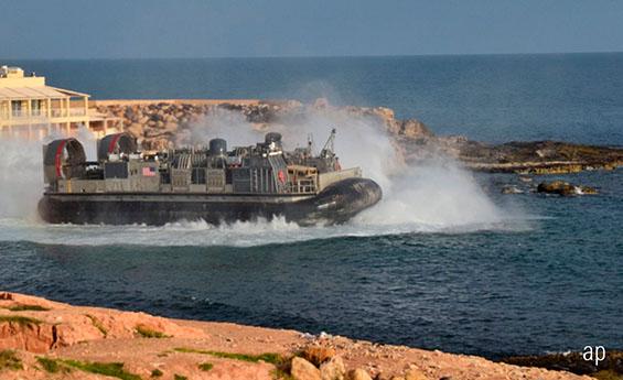 US forces in Libya, April 2019