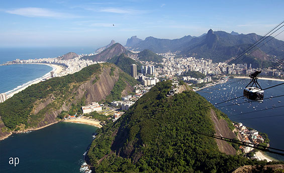 Rio de Janeiro, Brazil one of the BRIC nations which make an appearance in global equity funds