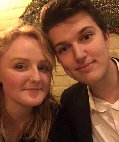 Private investor Sarah Culver and her boyfriend
