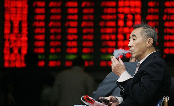 Shanghai stock exchange China