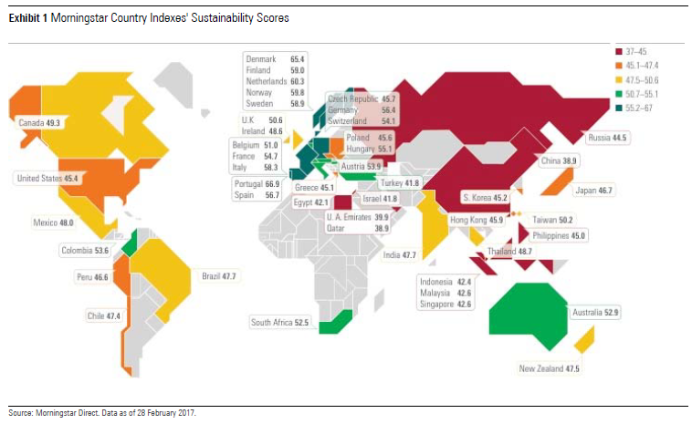 Morningstar Sustainability Atlas - Sustainability Score
