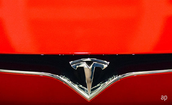 Tesla model S electric vehicle US equities climate change Elon Musk