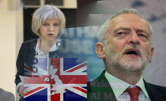 Jeremy Corbyn, Theresa May, Labour Government, nationalisation, Brexit, Conservatives, no-deal Brexit