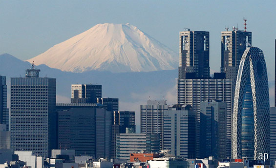 Japan Tokyo Mount Fuji Japanese equities stock market