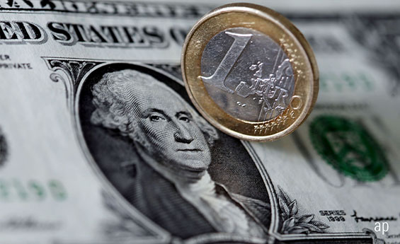 euros, US dollars, Europe, European equity, stocks