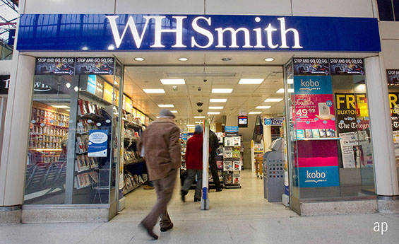 WH Smith Shares