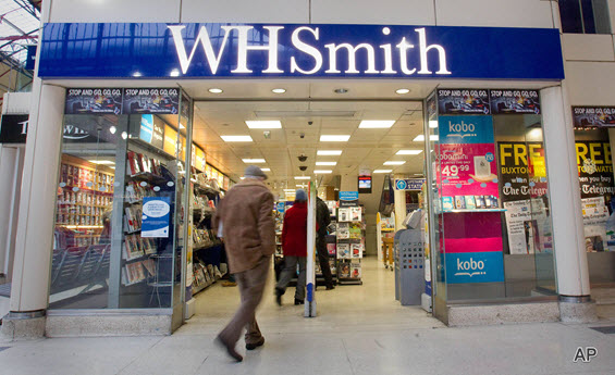 WH Smith, WH Smith share price, retail, high street, travel, retailers