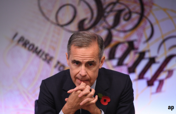 Mark Carney, Bank of England, UK recession, interest rates, Brexit, no-deal Brexit