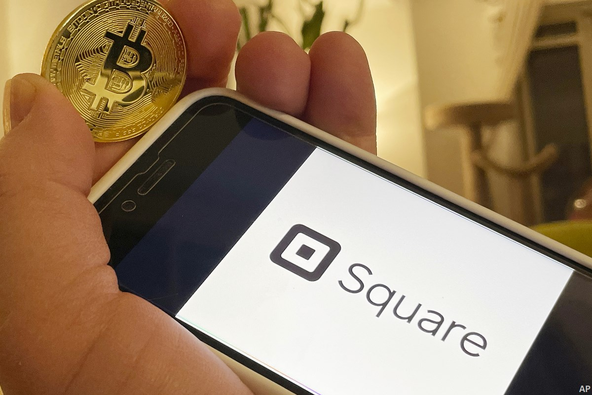 Square app and bitcoin