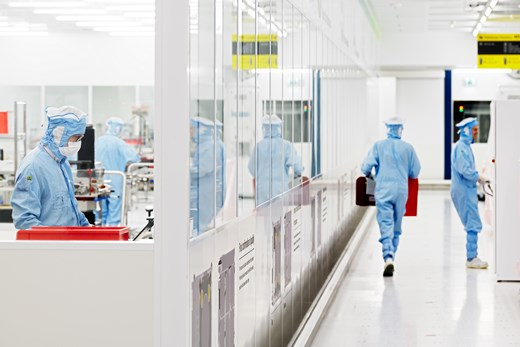 ASML Cleanroom fab photolithography semiconductor