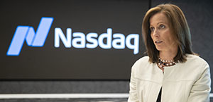 Adena Friedman Nasdaq chief executive