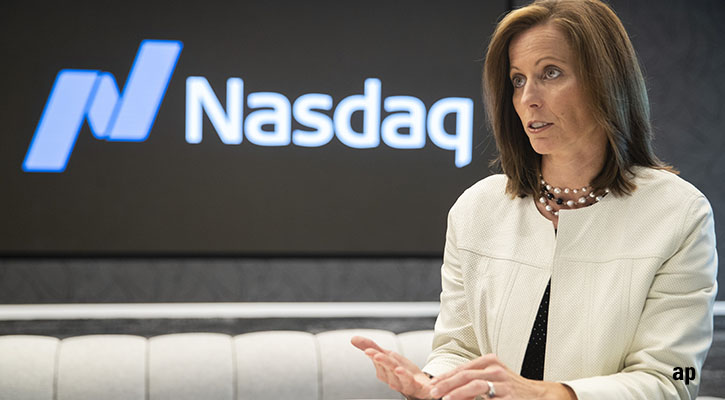 Adena Friedman Nasdaq chief executive