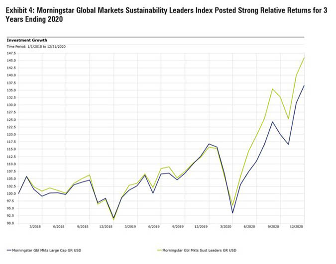 sustainability leaders index chart