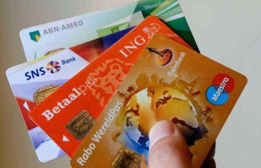 Banken betaalpassen