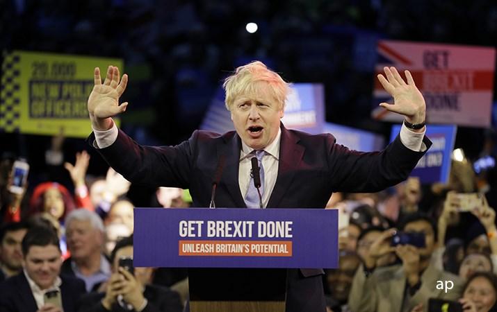 Boris Johnson election