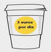 ¿Evitar un café con leche me hará rico?