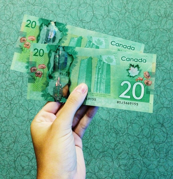 Canadian Dollars held up