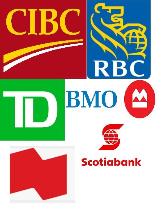 Canadian Bank Logos