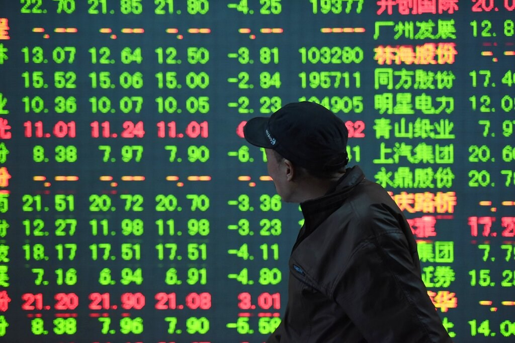 China stocks drop
