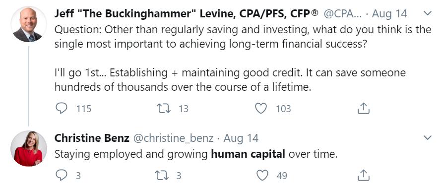 Christine Benz tweet