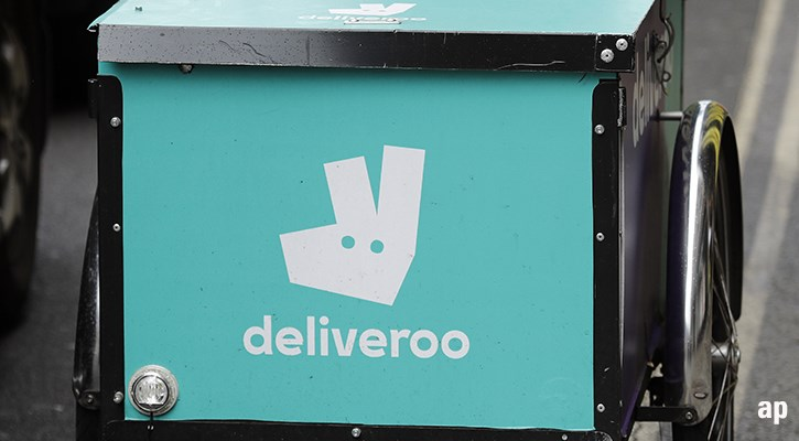 Deliveroo bicycle box logo