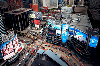 Dundas Square in Toronto