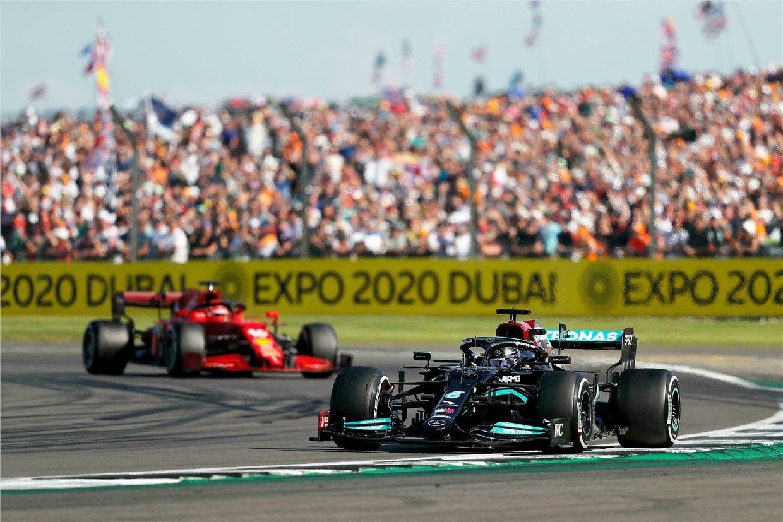 F1 British GP Hamilton Leclerc