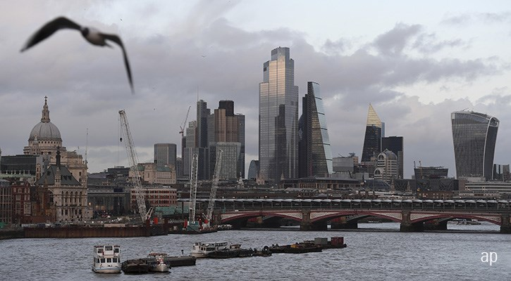Londonbörsen är förlorare 2020, delvis beroende på dåligt skött Brexit
