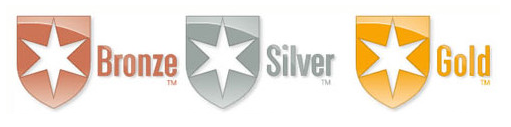Morningstar Analyst Rating bronze silver gold logo