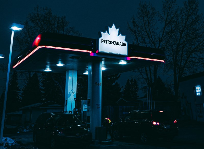 Petro-Canada gas station