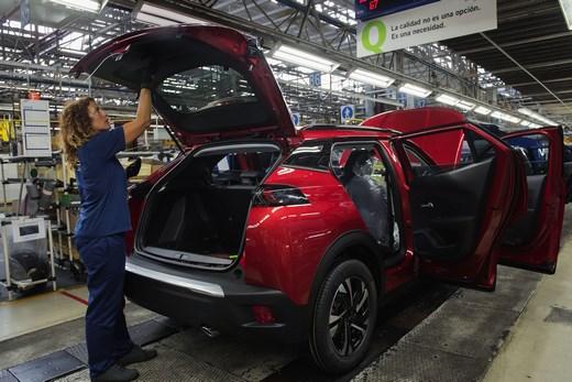 Peugeot Car Assembly VIC 6585 520