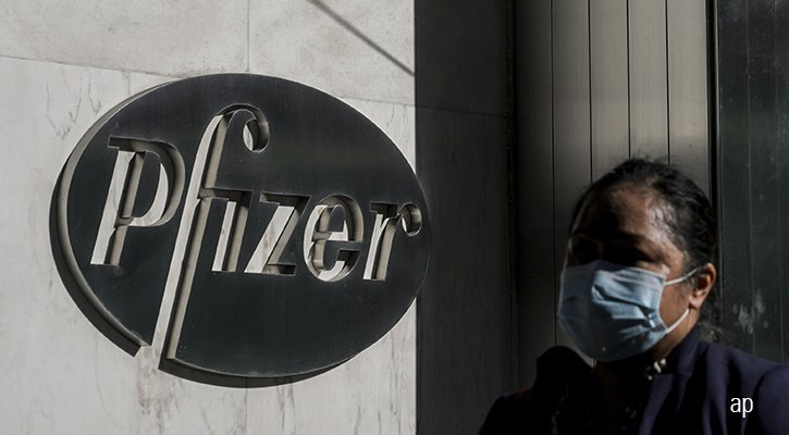 Pfizer article 2020