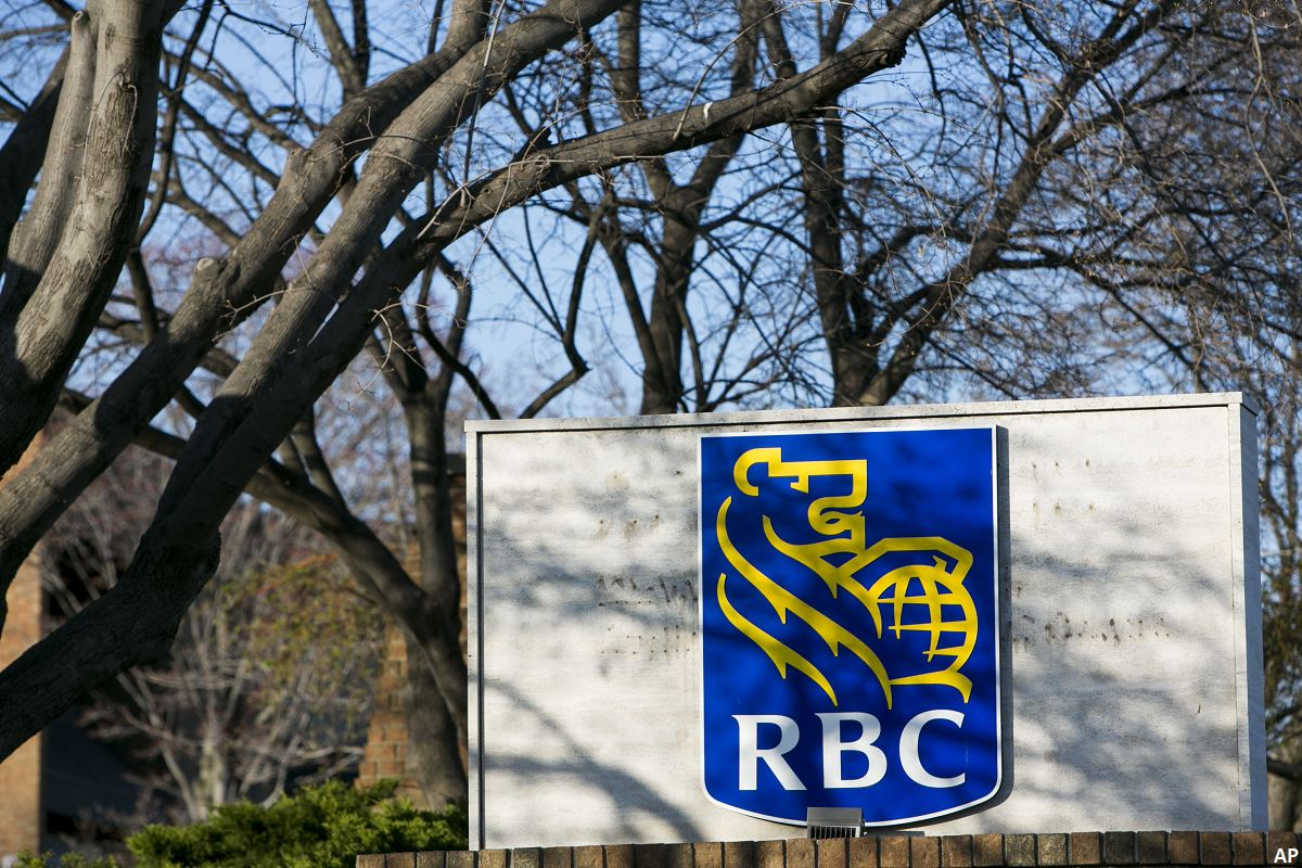 RBC bank sign